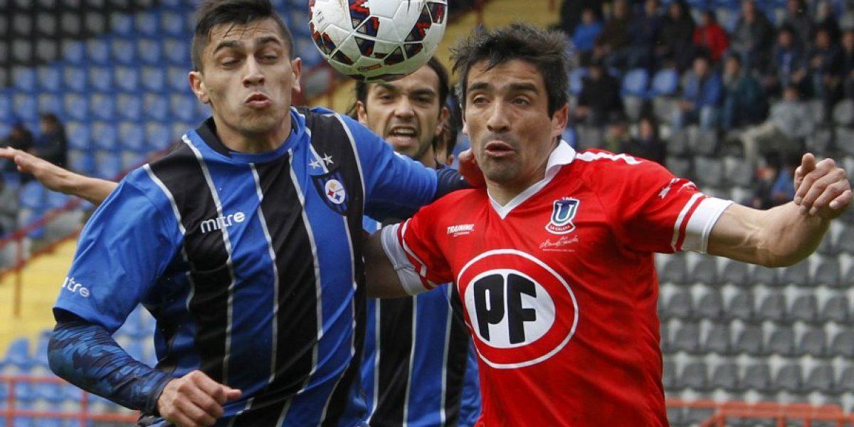 La U no irá por Brayan Véjar: