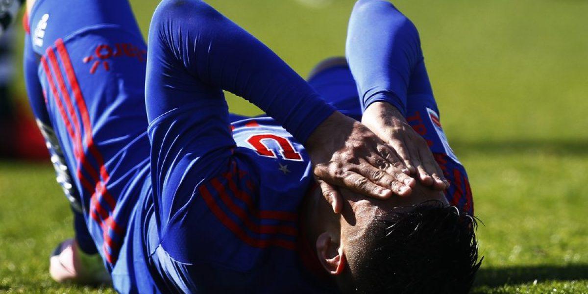 Felipe Mora asume la presión del gol: