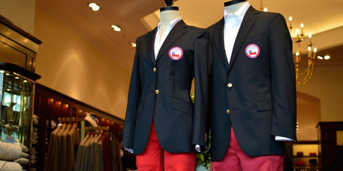 La exclusiva vestimenta con la que desfilarán los 42 deportistas chilenos en Río 2016
