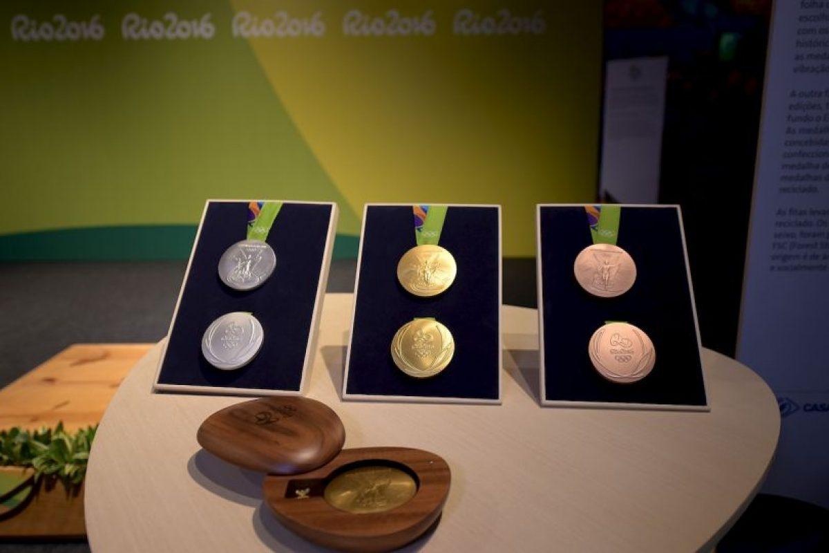 Casi dos mil 500 medallas se repartirán en Río 2016 Foto:Getty Images. Imagen Por: