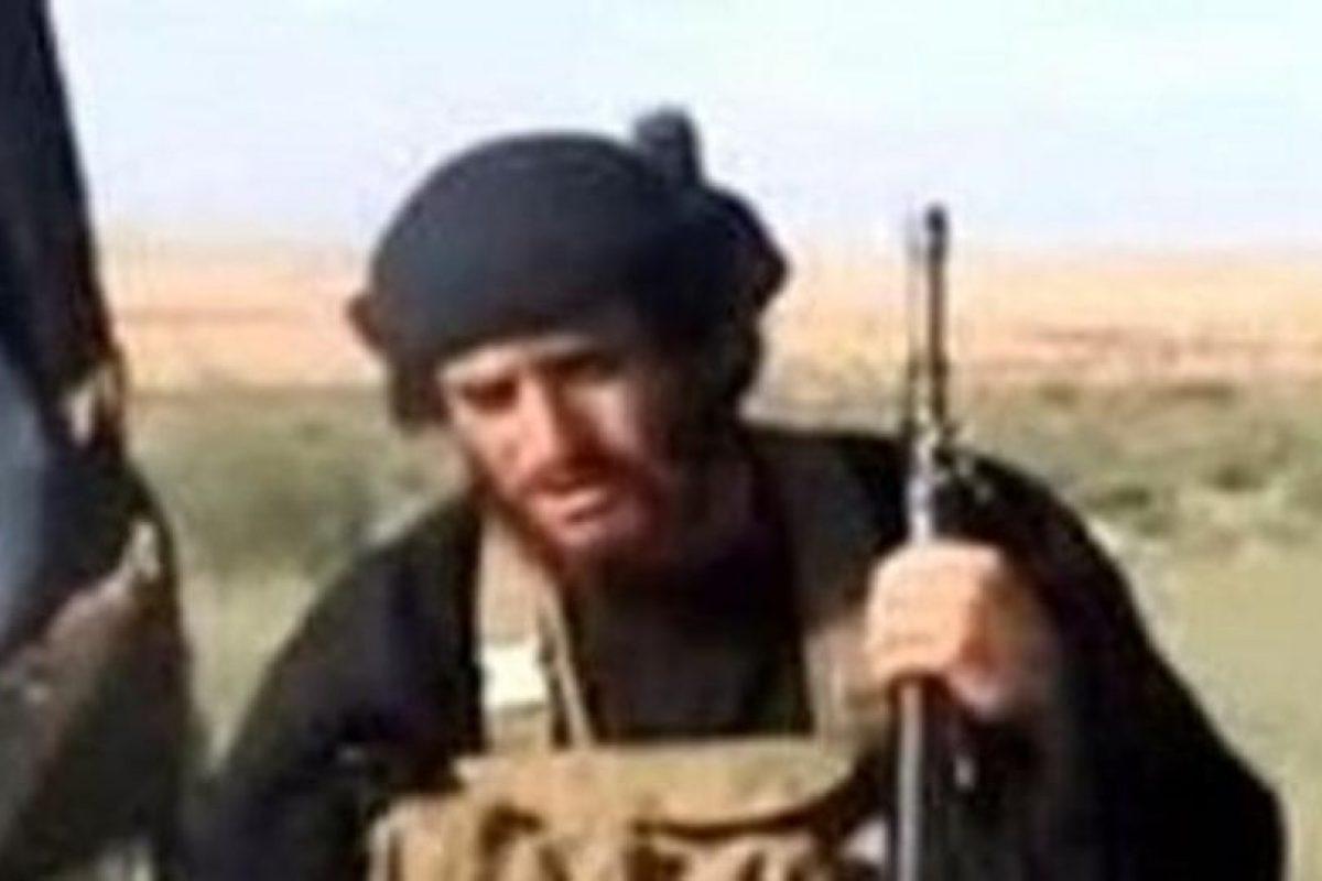 Abu Mohamed al Adnani, líder del Servicio Secreto del Estado Islámico Foto:Reproducción. Imagen Por: