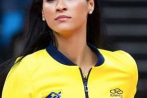 Jaqueline Carvalho (Voleibol / Brasil) Foto:Instagram. Imagen Por: