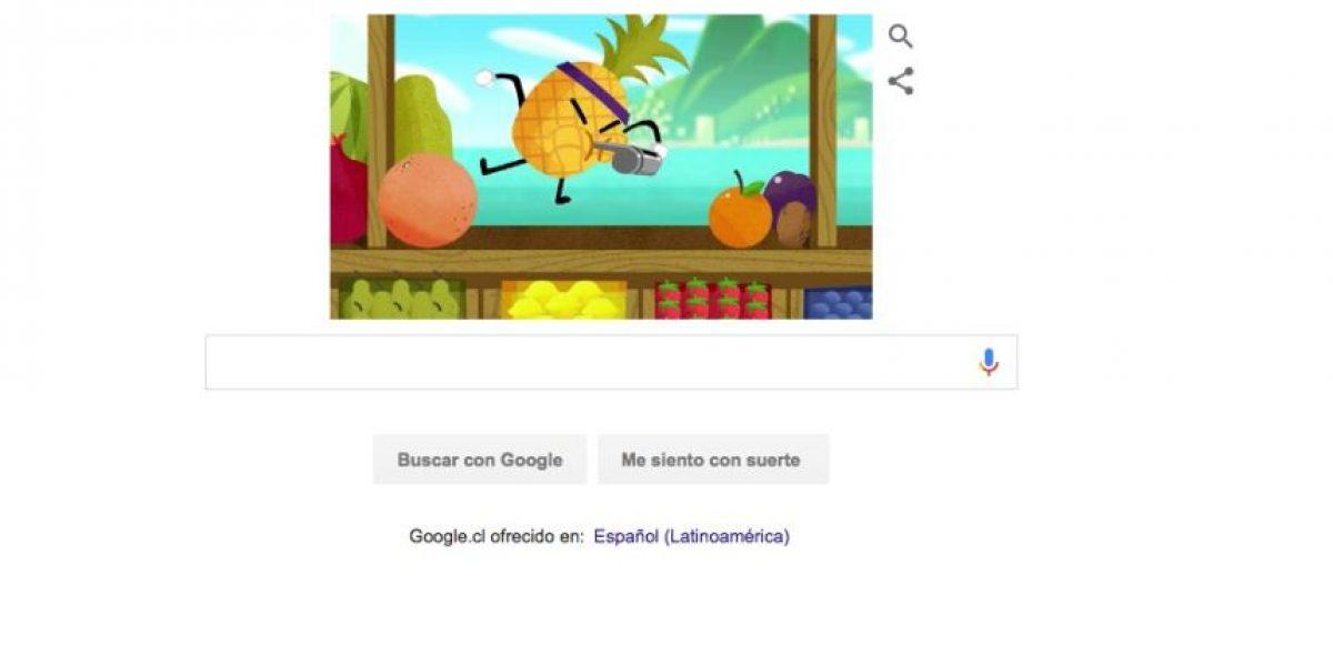 Con este doodle animado Google se suma a los JJOO de Río 2016