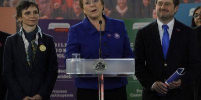 Bachelet y cabildo regional en Santiago: