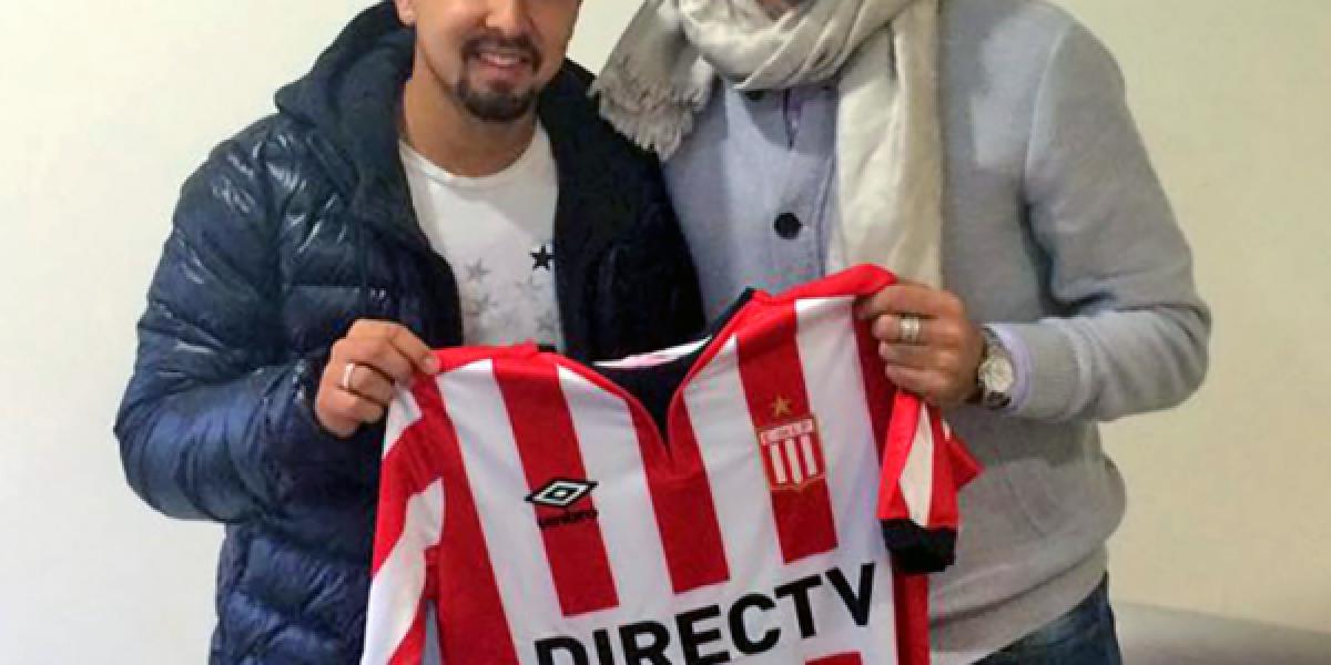 Jeisson Vargas marcó su primer gol con la camiseta de Estudiantes