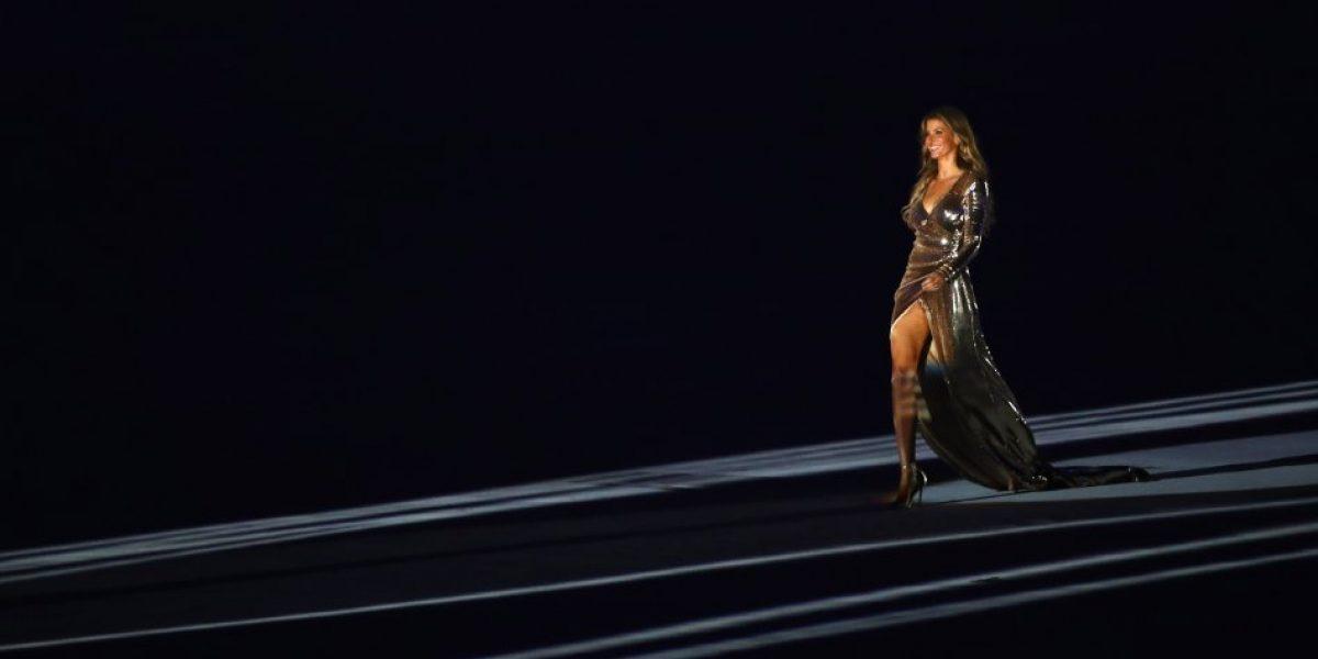 Garota de Ipanema: Gisele Bündchen deslumbró en inauguración de Rio 2016