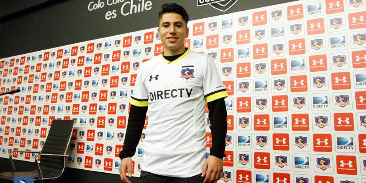 El objetivo de Brayan Véjar con la camiseta de Colo Colo: