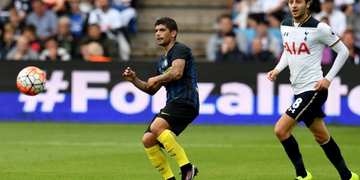 Inter sin Gary Medel fue aplastado por el Tottenham en partido amistoso