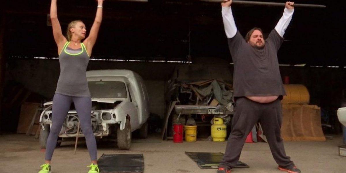 Fotos: La increíble transformación de camionero que bajó 95 kilos en
