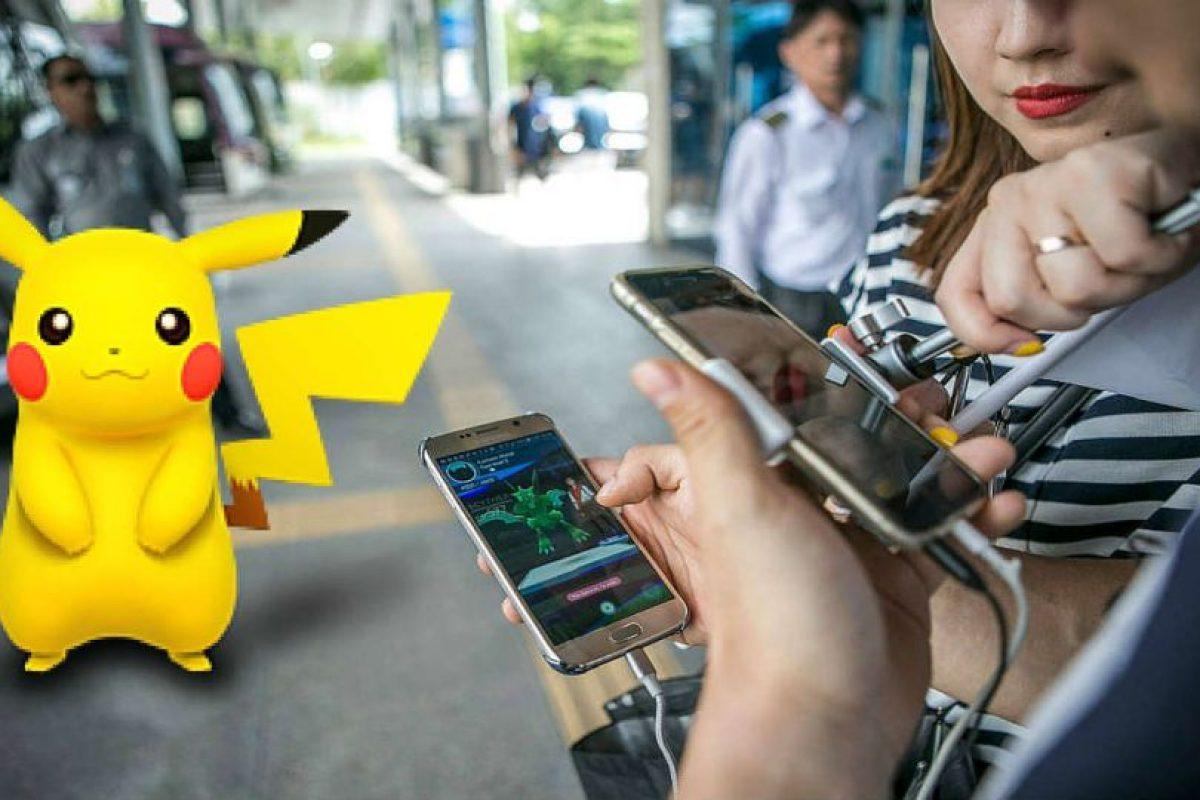Pokémon Go está causando furor. Foto:Getty Images/Edición. Imagen Por: