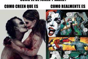 Así no vean la terrible relación abusiva que tiene con El Joker. Foto:vía Twitter. Imagen Por: