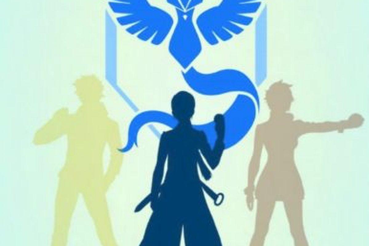 Equipo Azul/Sabiduría Foto:Nintendo/Pokémon Go. Imagen Por: