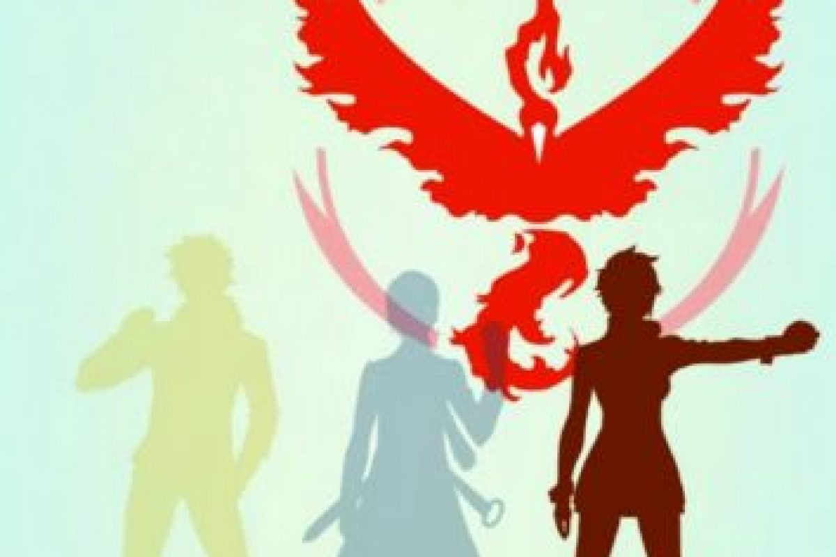 Equipo Rojo/Valor Foto:Nintendo/Pokémon Go. Imagen Por: