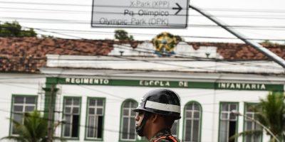 Río 2016: bala atravesó centro de prensa olímpico
