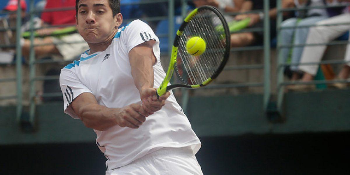 Garín se quedó con duelo de chilenos en dobles del challenger de Cortina