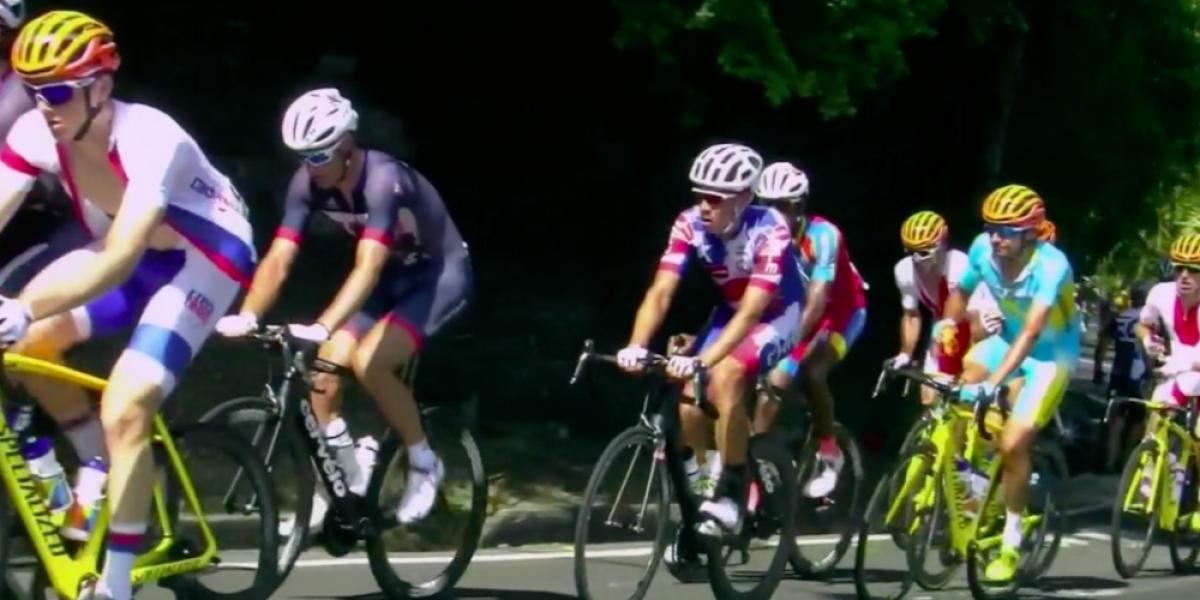 El Puma Rodríguez fue sacado de la prueba de ciclismo ruta en Río 2016