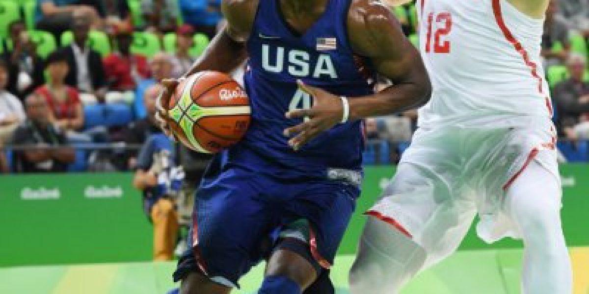 Fue un trámite: EE.UU. arrolló a China en su debut en básquetbol masculino de Río
