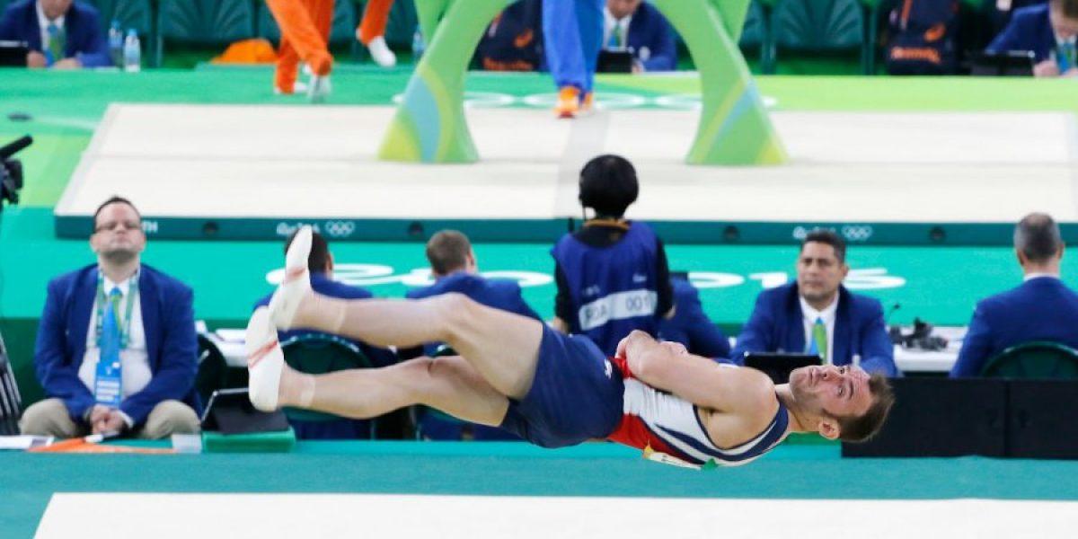 Tomás González nuevamente es finalista olímpico en la prueba de salto de la gimnasia