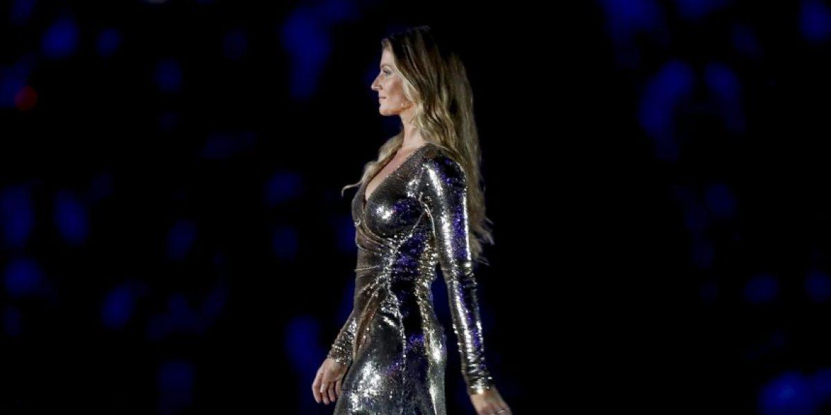 Rio 2016: Las piernas de Gisele Bündchen deslumbran en inauguración