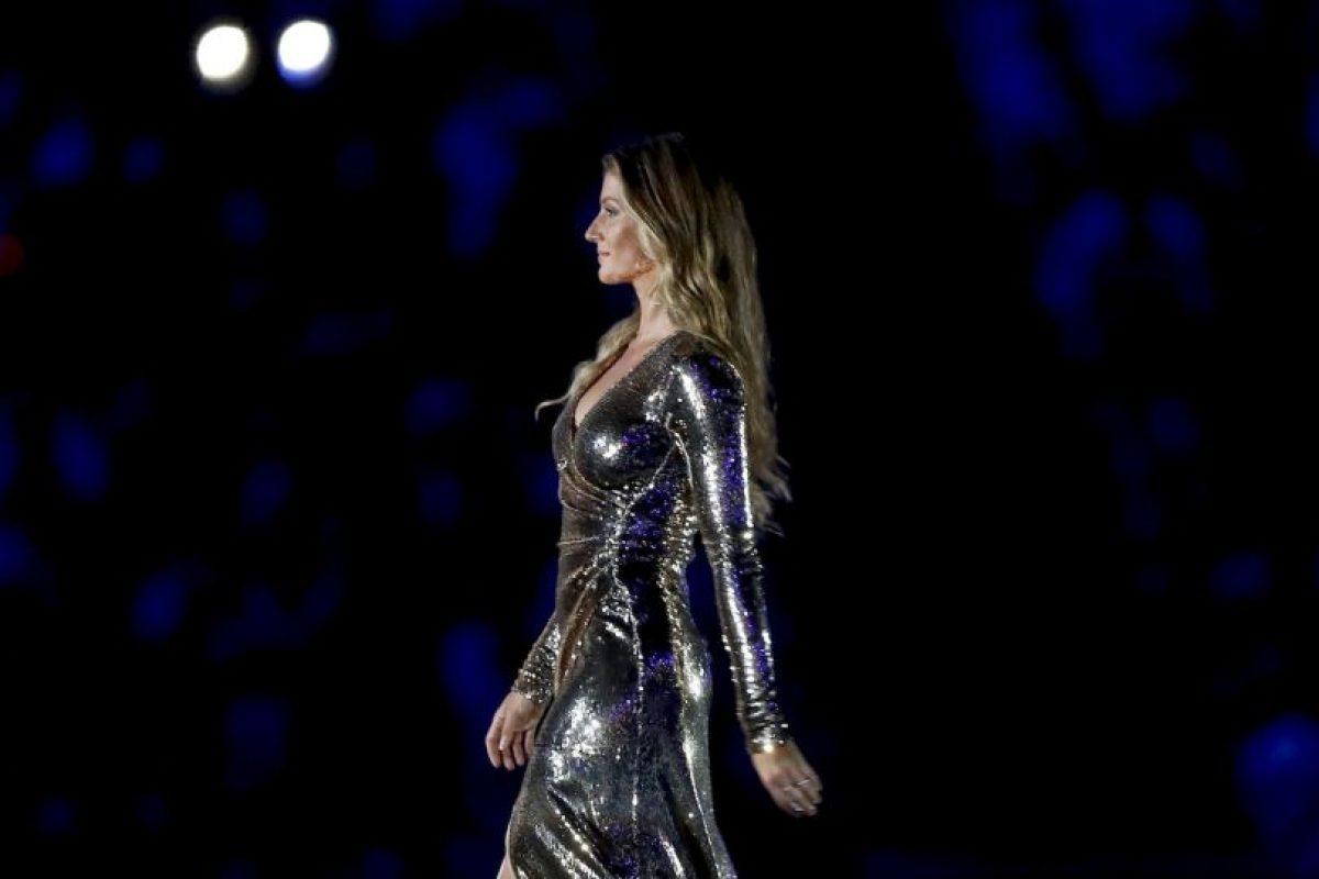 Las mejores imágenes de Gisele Bünchen en la inauguración de los Juegos Olímpicos de Río 2016 Foto:Getty Images. Imagen Por: