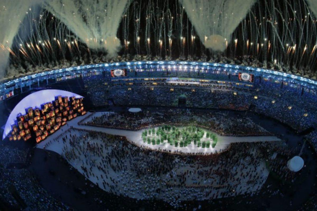 Lo mejor de la inauguración de los Juegos Olímpicos de Río 2016: Todas las delegaciones reunidas como una sola Foto:Getty Images. Imagen Por: