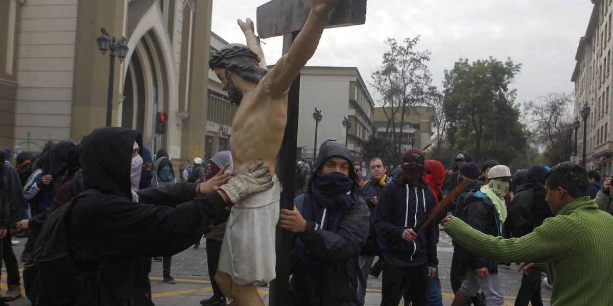 Imputado por ataque a iglesia de la Gratitud Nacional: