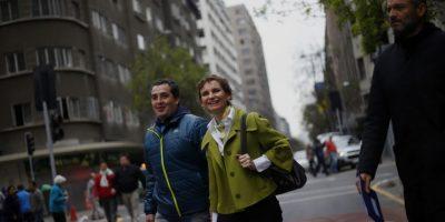 Santiago Centro: Autoridades inauguran San Antonio como vía exclusiva
