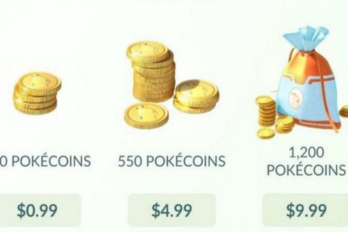 Estos precios están en dólares. Foto:Pokémon Go. Imagen Por: