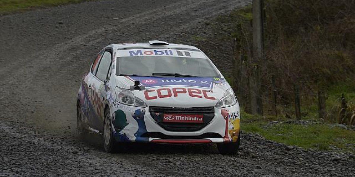 El gran susto que pasó Chaleco López en el RallyMobil de Osorno