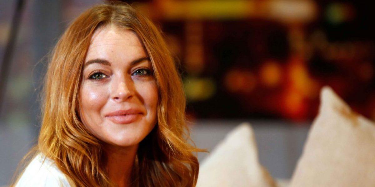 Video: Lindsay Lohan es agredida por su novio en Grecia