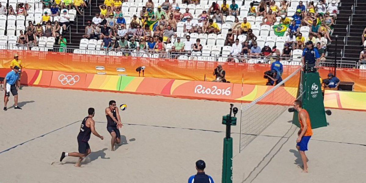 Los primos Grimalt no pudieron en su debut en el voleibol playa en Río