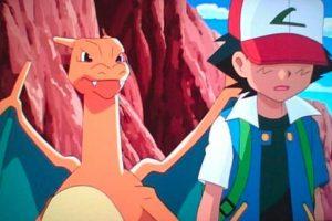 Incluso Ash le tuvo que decir adiós a Charizard. Foto:Pokémon Go. Imagen Por: