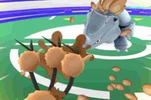 La barra de ataque especial. Foto:Pokémon Go. Imagen Por: