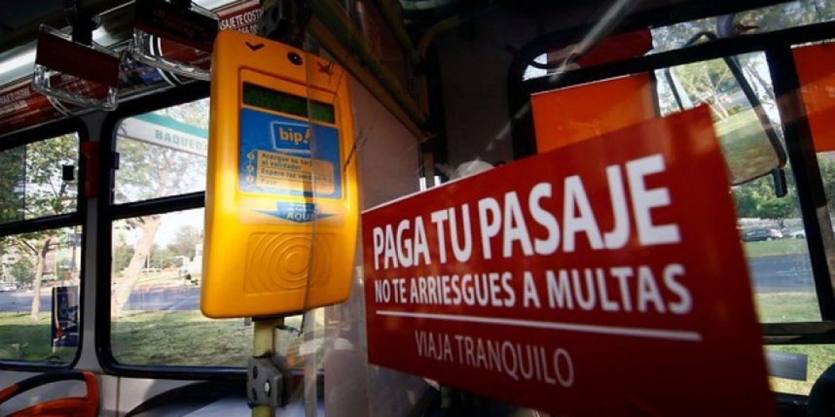 Transantiago registra la evasión más alta en el sistema desde su implementación en 2007