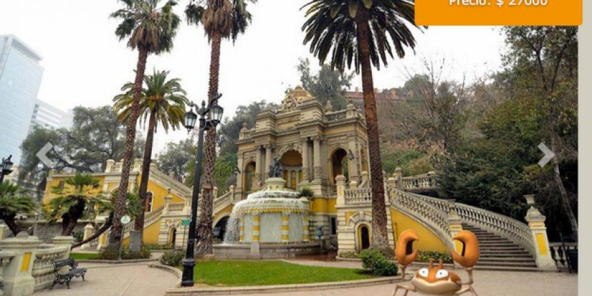 Agencia de viaje ofrece tours por Santiago con  internet móvil para capturar Pokémon