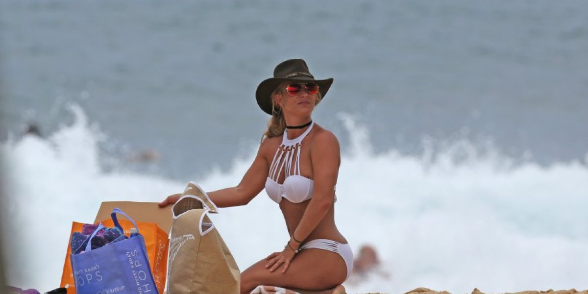 Britney Spears deslumbra con su figura en bikini