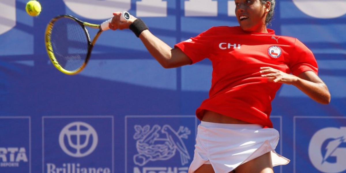 Tenista chilena Daniela Seguel apareció este lunes entre las mejores 200 del mundo