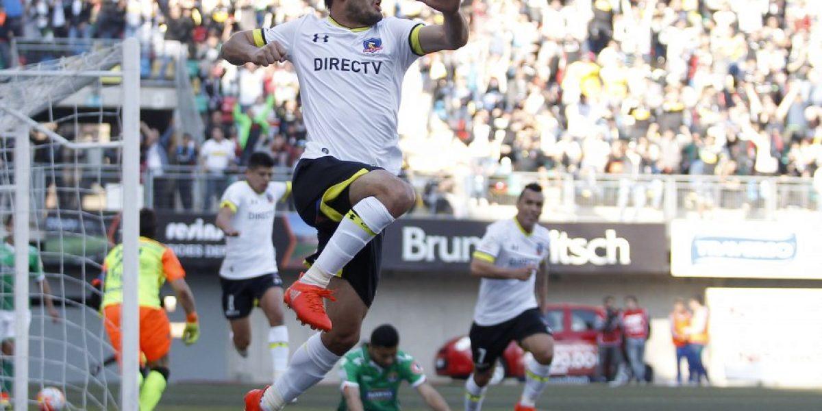 Octavio Rivero se llevó todos los aplausos en su primer partido como titular en Colo Colo