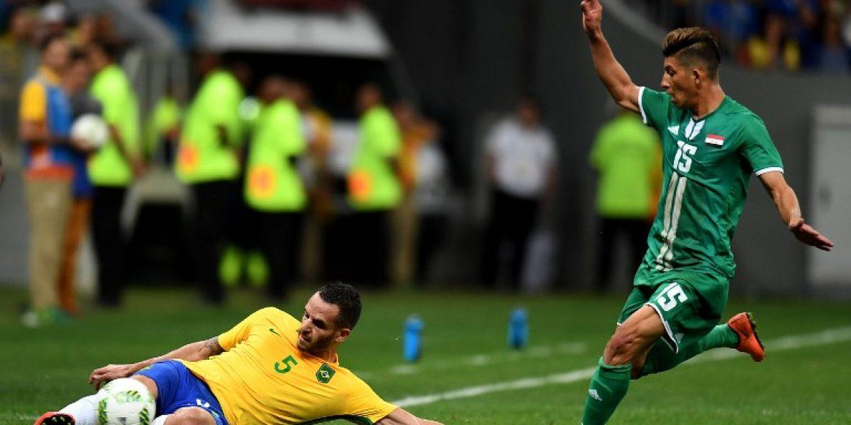 Brasil de Neymar empató contra Irak y mantiene su clasificación en suspenso