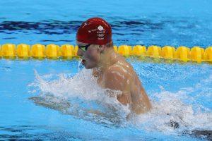 Adam Peaty sólo pareció competir contra su propio récord y los otros nadadores poco pudieron hacer para arrebatarle el oro en los cien metros braza Foto:Getty Images. Imagen Por: