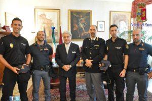 La historia le valió el reconocimiento a la Policía de Roma Foto:facebook.com/questuradiroma. Imagen Por: