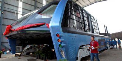 China pospone la producción del bus-túnel en medio de acusaciones de fraude