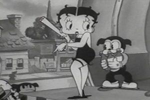 La imagen de Betty Boop después de perder sus rasgos animales.. Imagen Por: