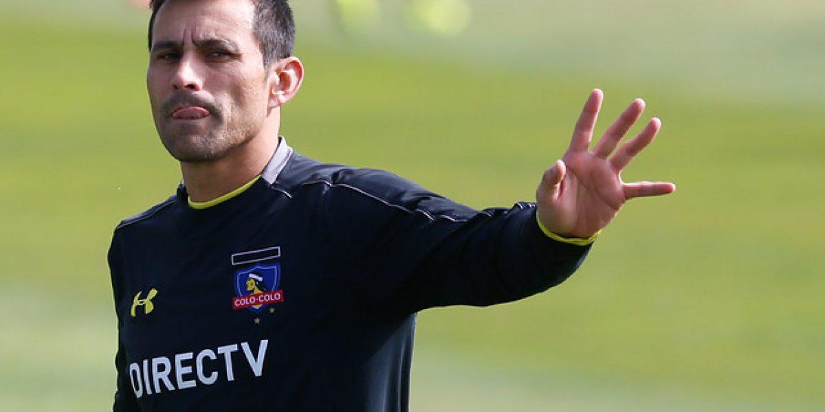 Villar entrenó con normalidad en Colo Colo y luchará con Garcés para ser titular contra Temuco