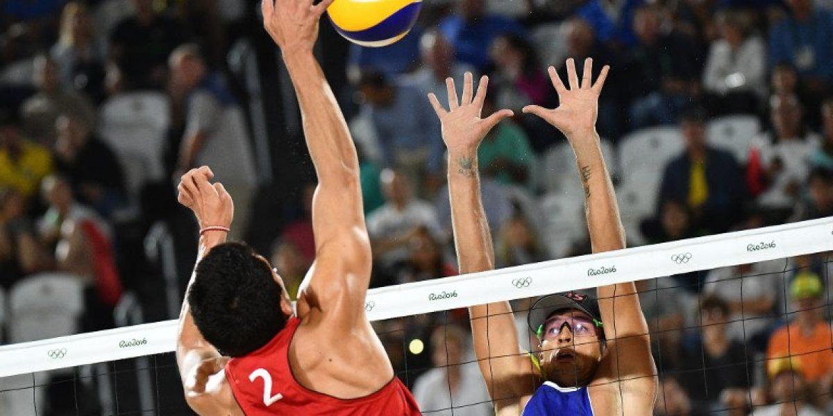 Los primos Grimalt vuelven a caer en el voleibol de playa aunque siguen con vida en Rio
