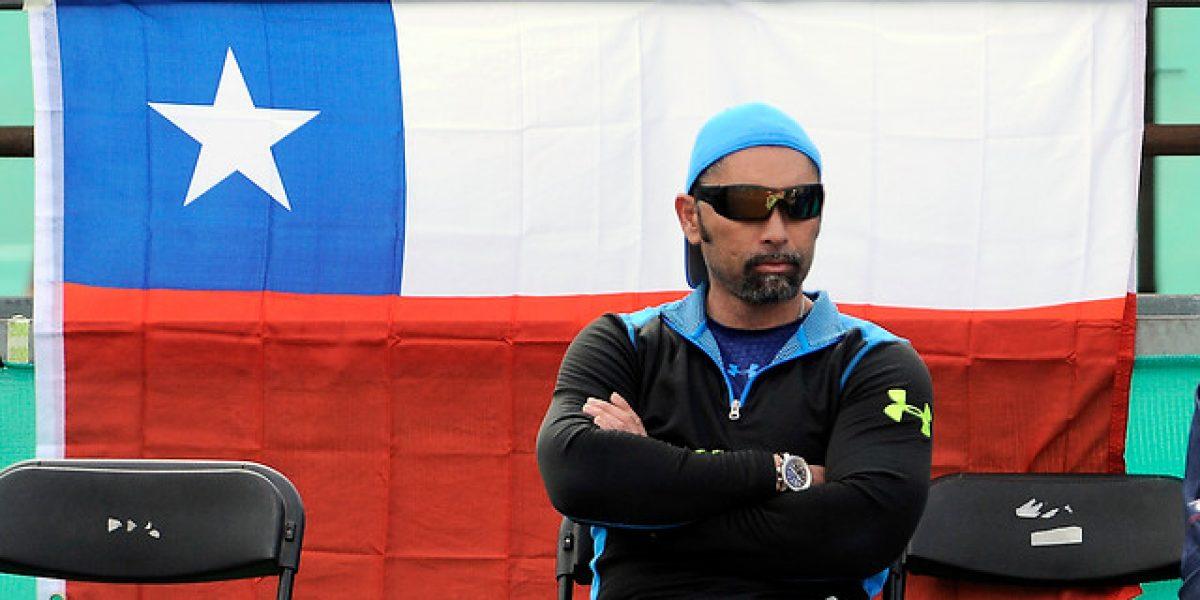 Marcelo Ríos se aleja del equipo chileno de Copa Davis