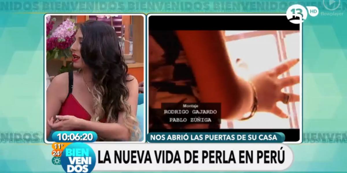 Fotos: La gitana Perla reapareció en las pantallas de Canal 13