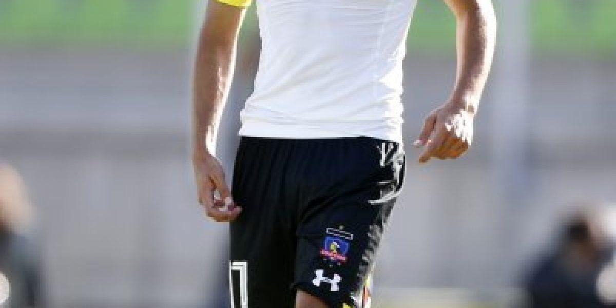 El emotivo momento que vivió Gabriel Suazo en el entrenamiento de Colo Colo