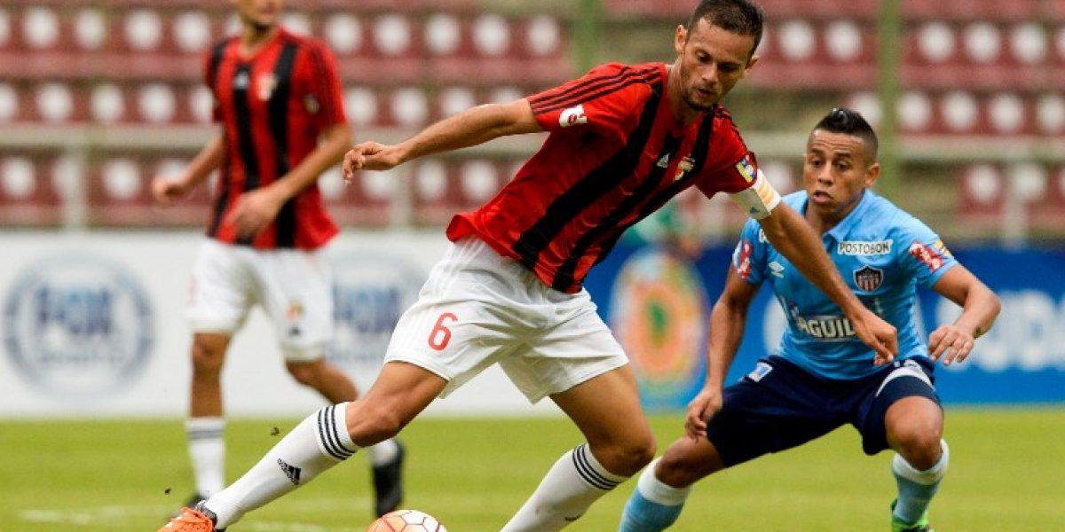 El Junior de Sebastián Toro arrancó pegando fuerte en la Sudamericana