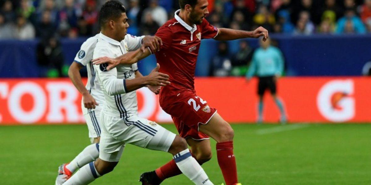 Minuto a minuto: Real Madrid terminó con el sueño de Sampaoli y se quedó con la Supercopa de Europa